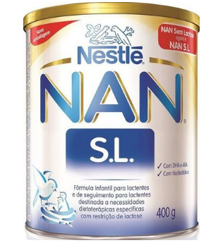 LEITE NAN SL 409G - NESTLE