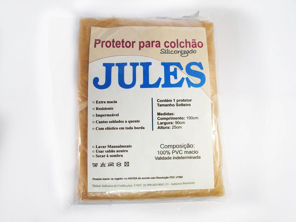 LENÇOL LUVA SOLTEIRO SILICONIZADO JULES - VOLZEN
