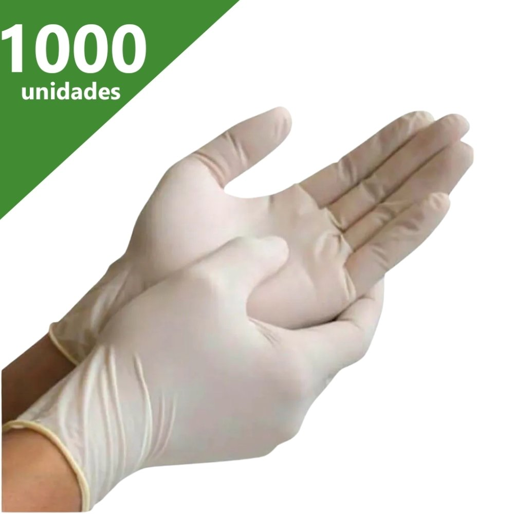 LUVA DE PROCEDIMENTO LÁTEX P (C/1.000 UN) - NUGARD