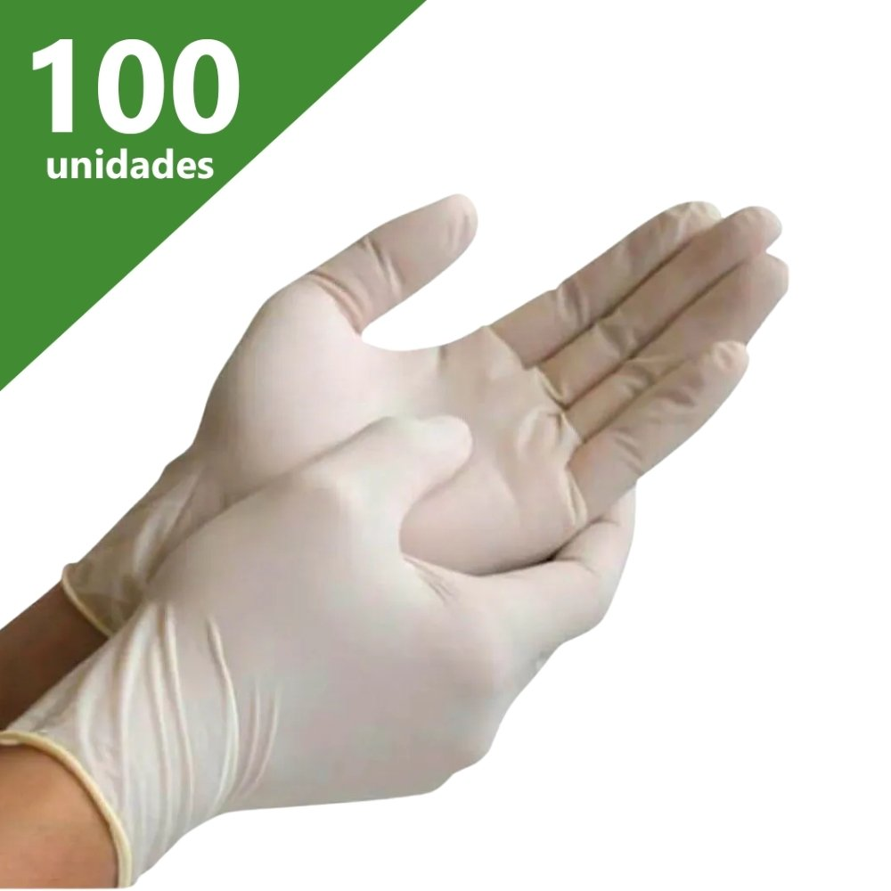 LUVA DE PROCEDIMENTO LÁTEX P (CX C/100 UNDS) - NUGARD