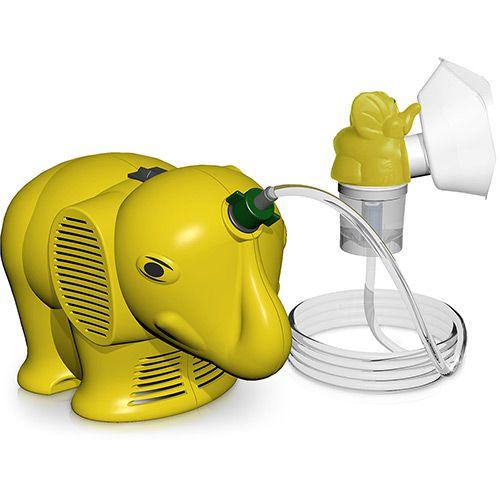 Nebulizador Aparelho de Aerosol Infantil Amarelo - NS Inaladores