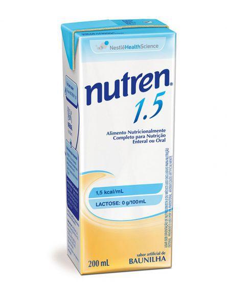 NUTREN 1.5 BAUNILHA 200ML - NESTLÉ