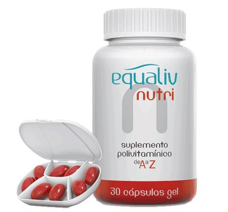 NUTRI POLIVITAMINICO 30CAPS - EQUALIV