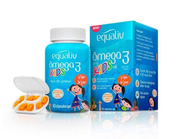 OMEGA3 PRO KIDS C/60 CAPS - EQUALIV