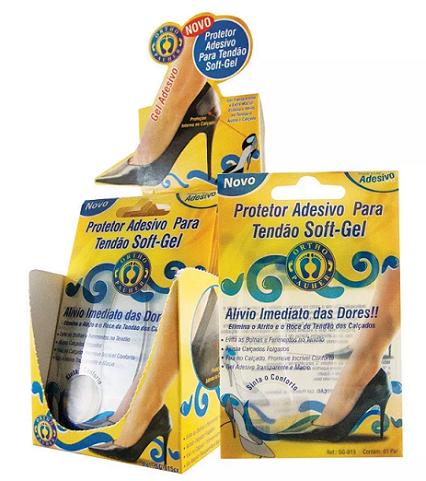 Protetor Adesivo para Tendão Soft-Gel  SG815 - Ortho Pauher