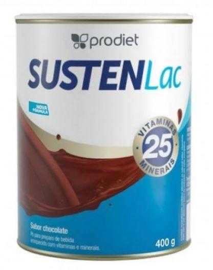 SUSTENLAC 400G CHOCOLATE TIPO ENSURE (CX C/12 UNDS) - PRODIET