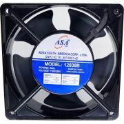 Microventilador de Rolamento Bivolt AC - 120X120X38mm