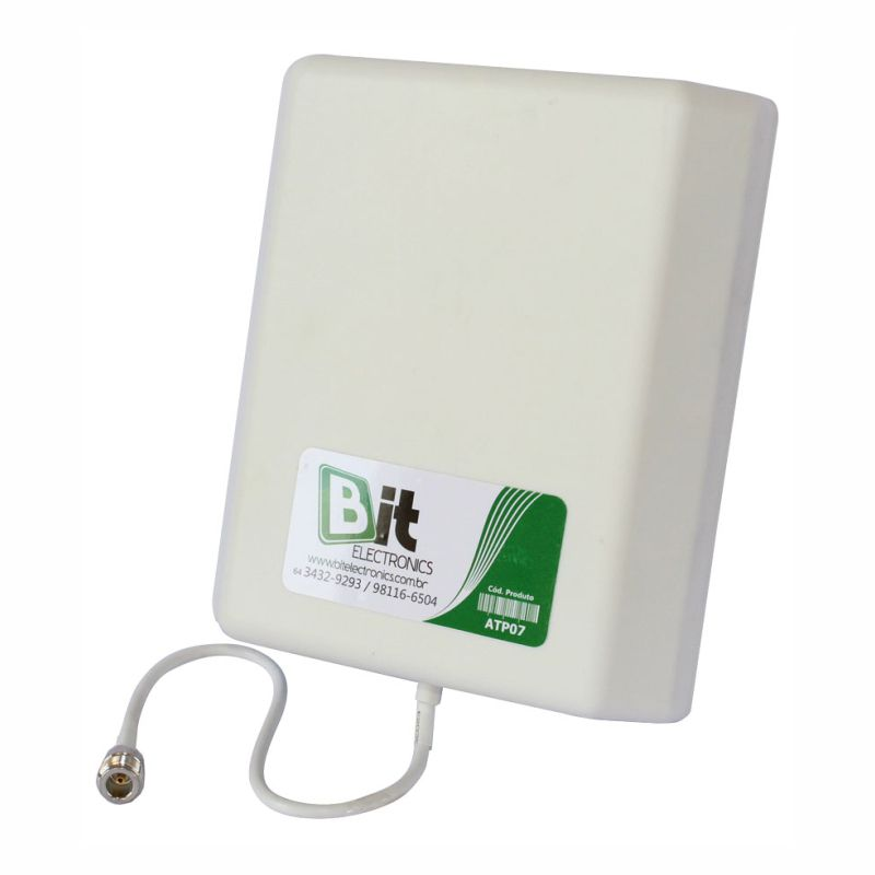 Antena Painel 7-10 dBi (703-960 / 1710-2600 MHz)