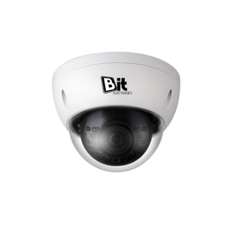 Câmera de Segurança IP 4MP Dome - BIT-IPC-HDBW4431EP-AS