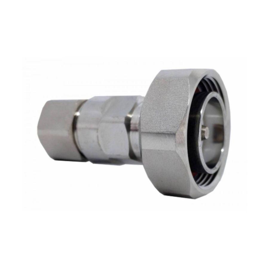 Conector 7/16 DIN Macho p/ Cabo Cellflex 1/2 Flexível
