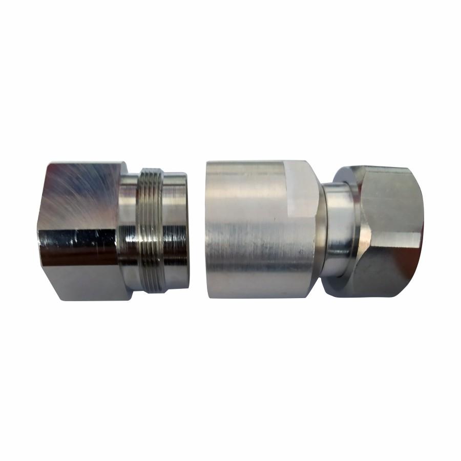 Conector DIN 7/16 Macho p/ Cabo Cellflex 7/8