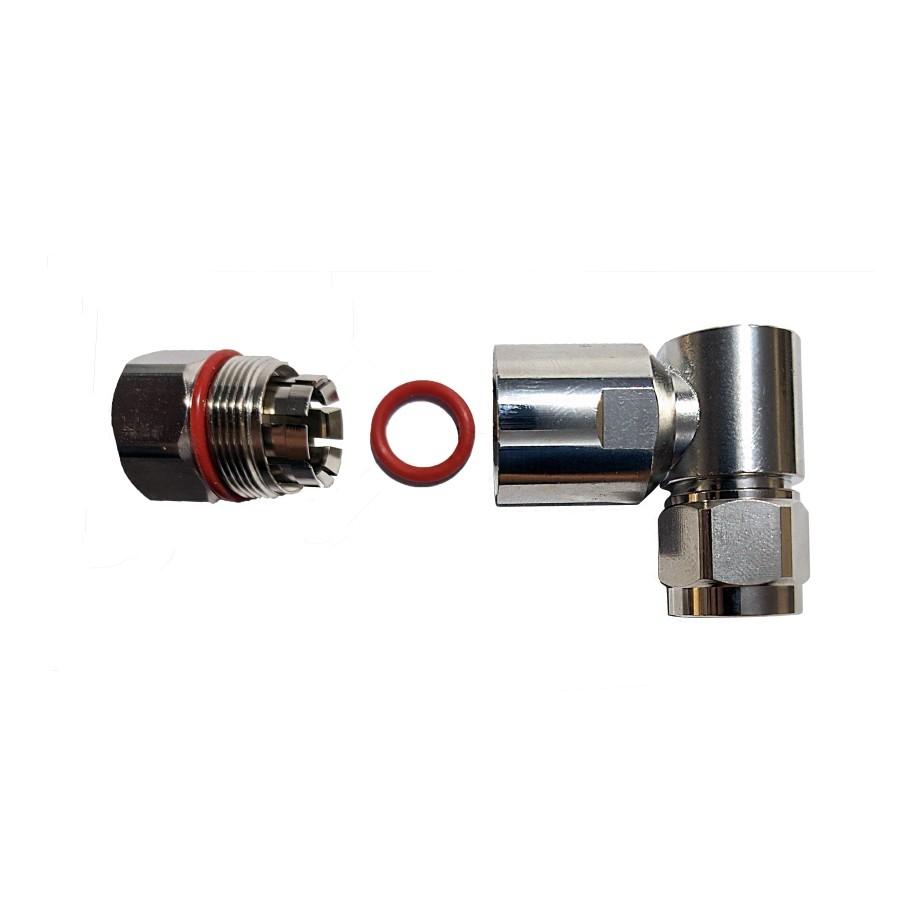Conector N Macho Angular p/ Cabo Cellflex 1/2 Corrugado C