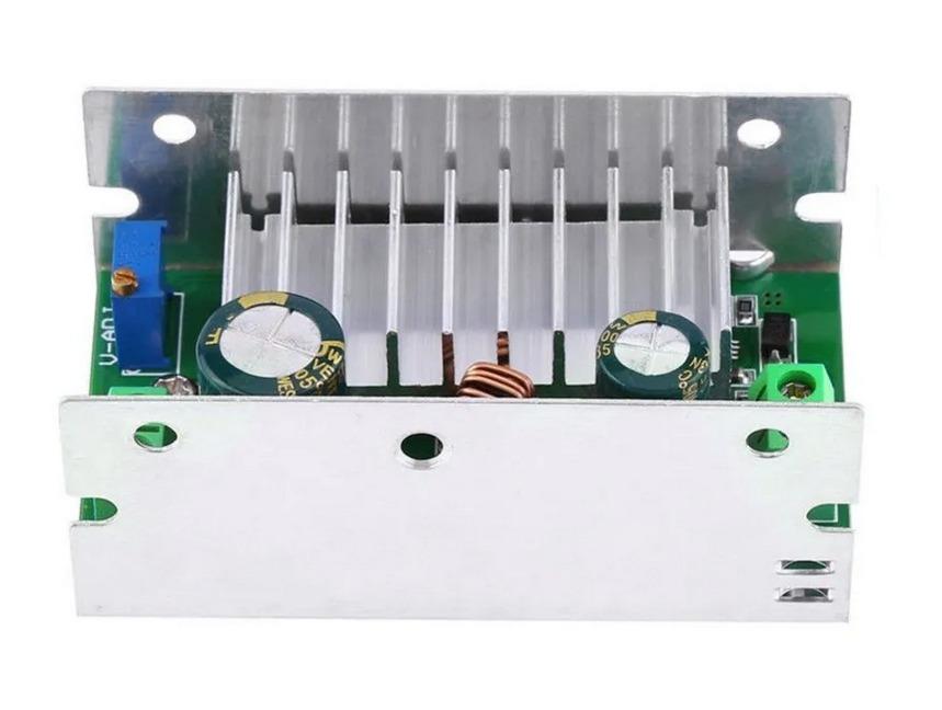 Conversor Step-Up - 6-35V P/ 6-55V - 10A - 220W