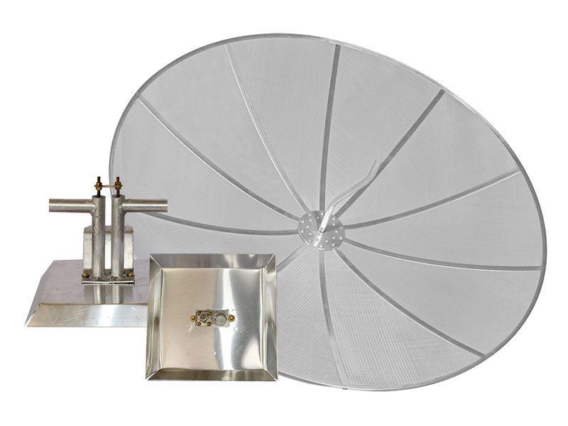 Iluminador 900 MHz + Parabólica 1,70 M - 28 dBi