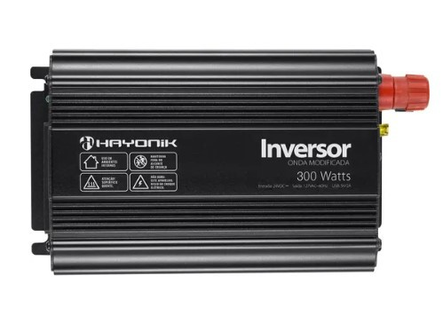 Inversor de Voltagem 300W 24V para 127V