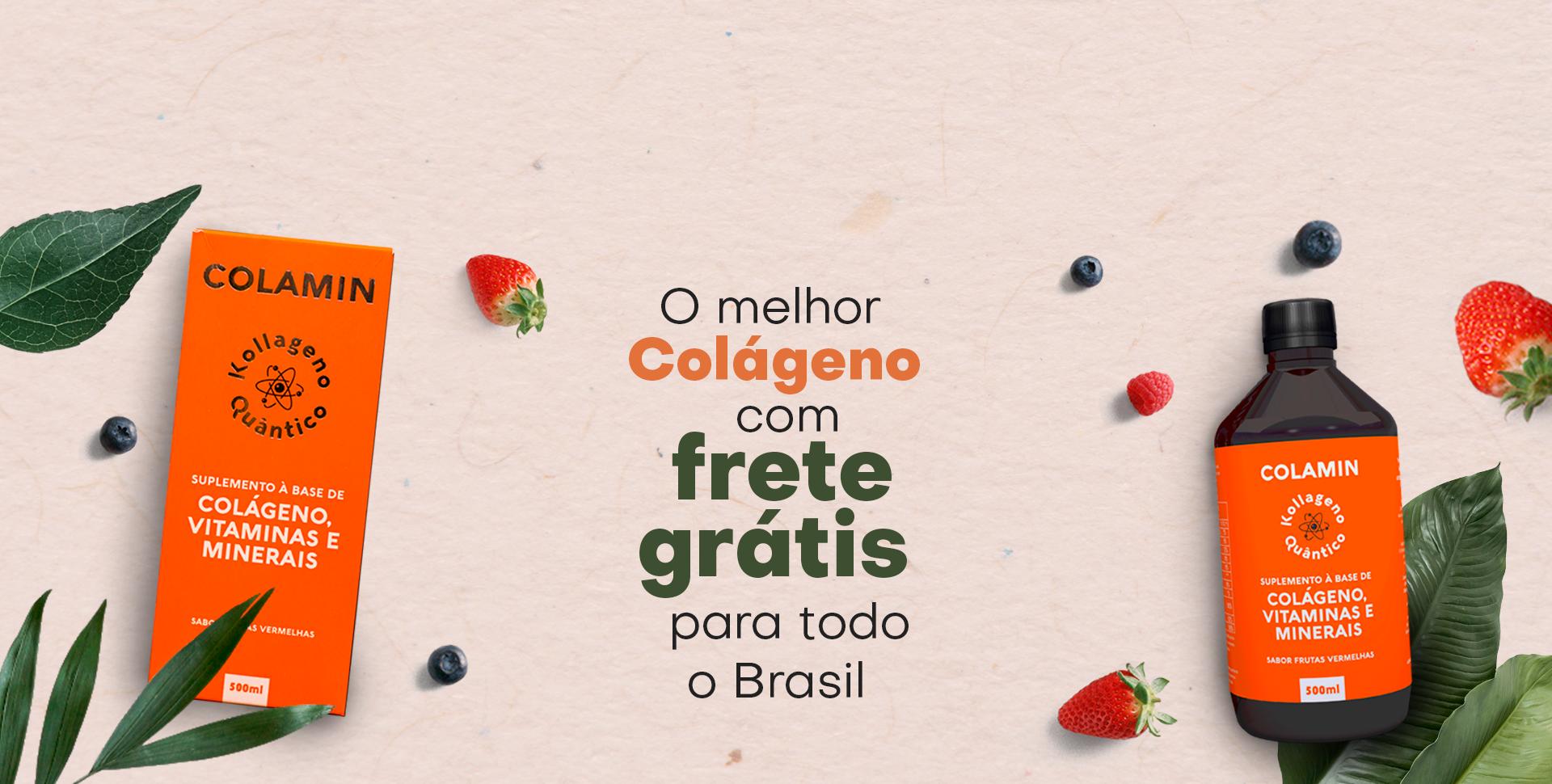 colamin com frete grátis para todo o brasil