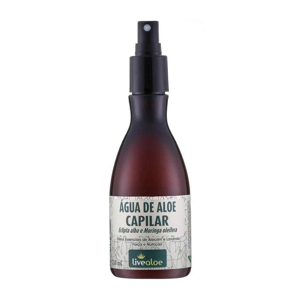 Água de Aloe Tônico Capilar para Crescimento e Fortalecimento 210 ml - Livealoe