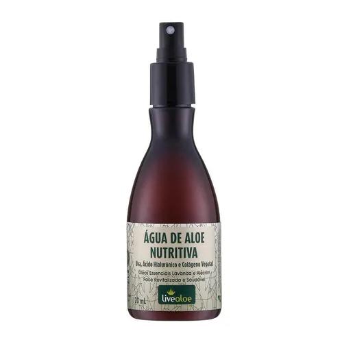 Tônico Anti-Idade Água de Aloe Nutritiva 120 ml - Livealoe