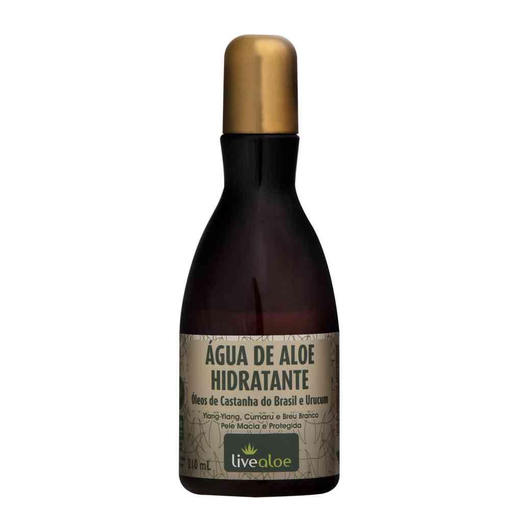 Água de Aloe Óleo Hidratante Bifásico 210 ml - Livealoe