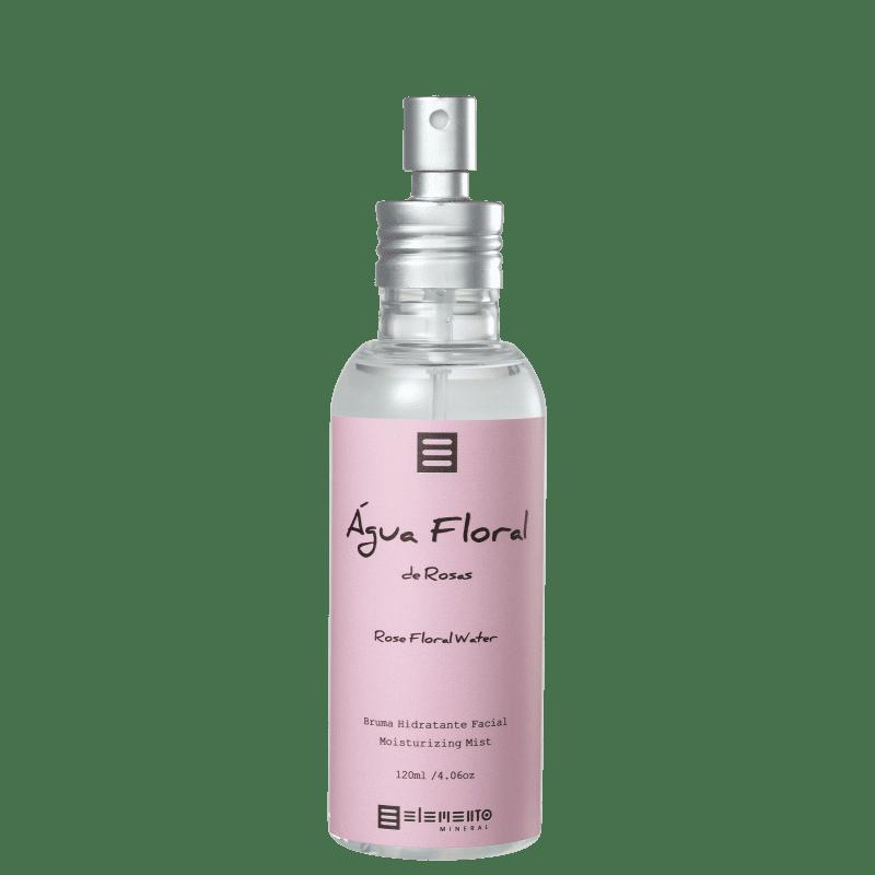 Água Floral de Rosas Tônico para Pele Seca 120 ml - Elemento Mineral