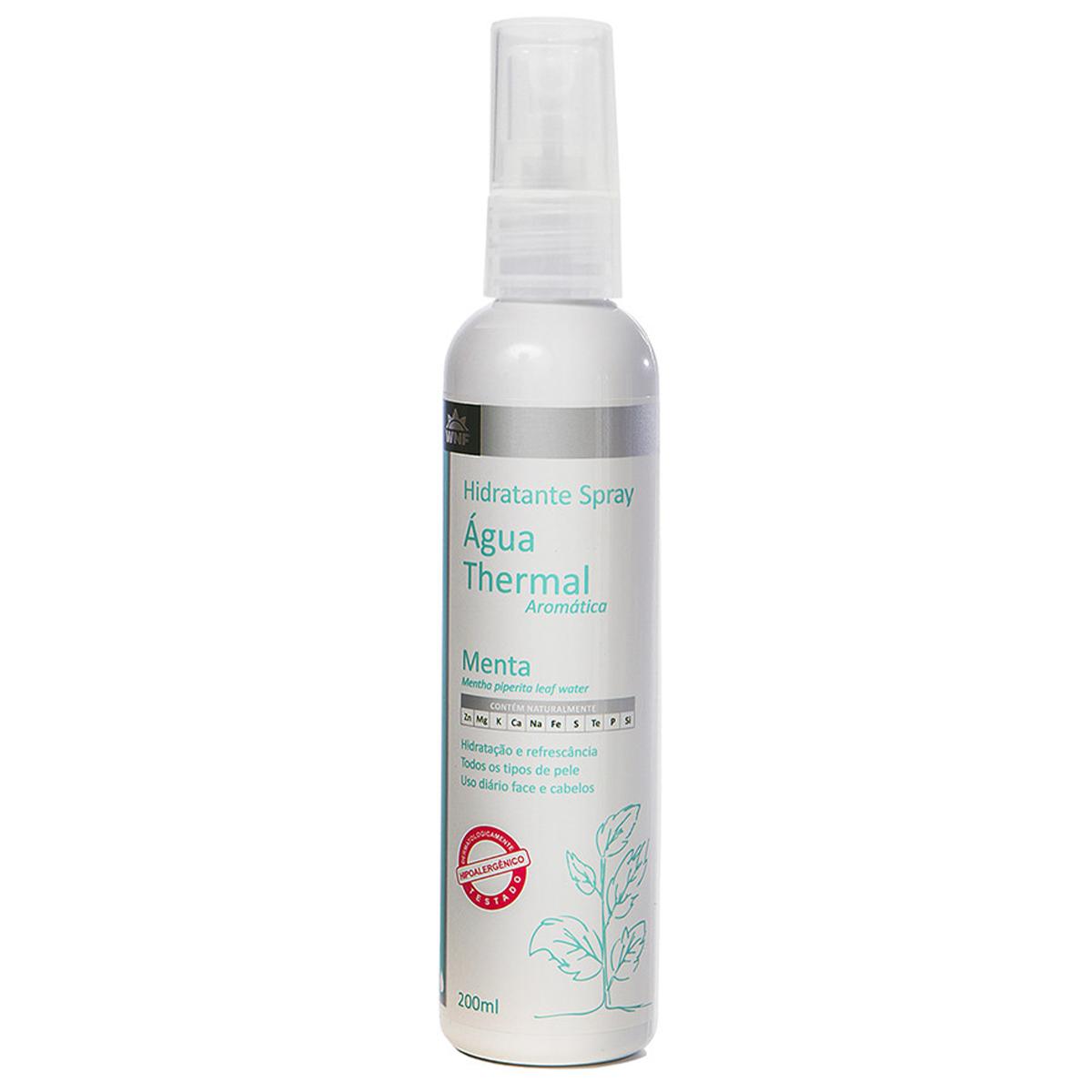 Água Thermal de Menta 200 ml - WNF