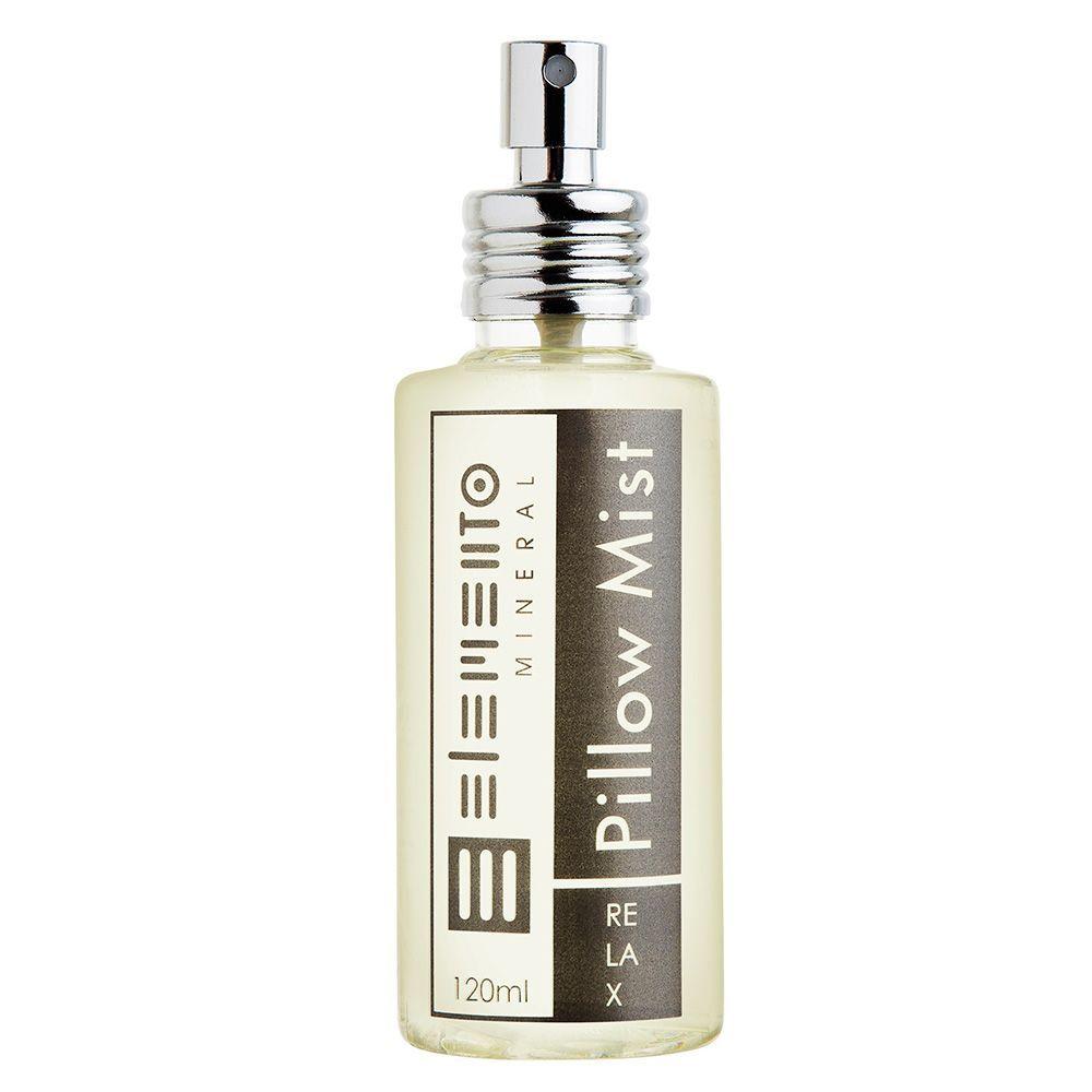 Água Perfumada para Lençóis e Fronhas Pillow Mist Relax 120 ml  - Elemento Mineral