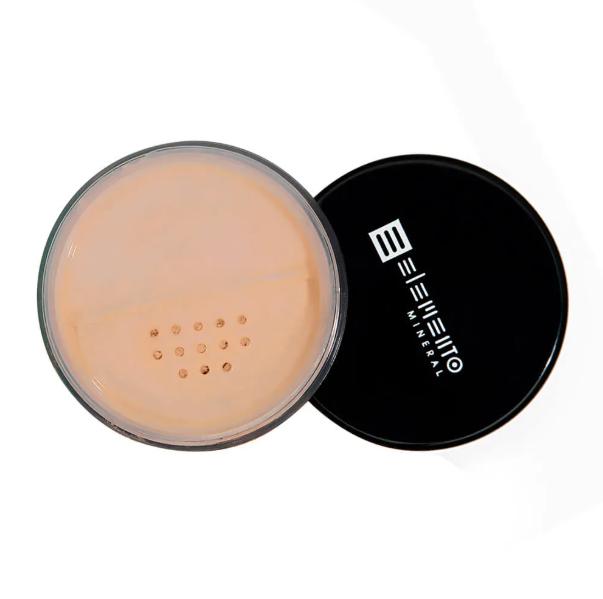 Filtro Solar Natural BB Powder Mineral FPS 15 Cool 8 g - Elemento Mineral