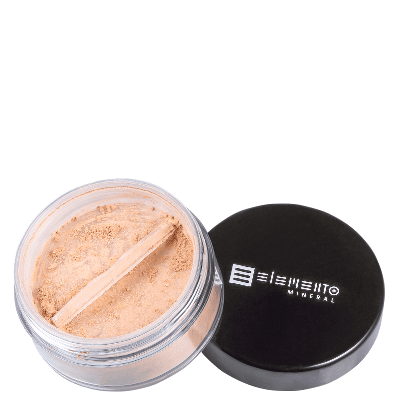 Filtro Solar Natural BB Powder Mineral FPS 15 Pale Light 8 g - Elemento Mineral