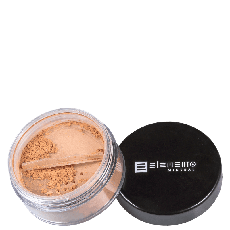 Filtro Solar Natural BB Powder Mineral FPS 15 Warm 8 g - Elemento Mineral