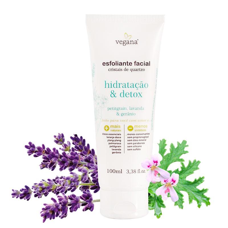 Esfoliante Facial Hidratação e Detox Vegana 100 ml - WNF