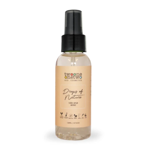 Fluido Capilar Antifrizz Drops Of Nature Natural Vegano 120 ml - Twoone Onetwo