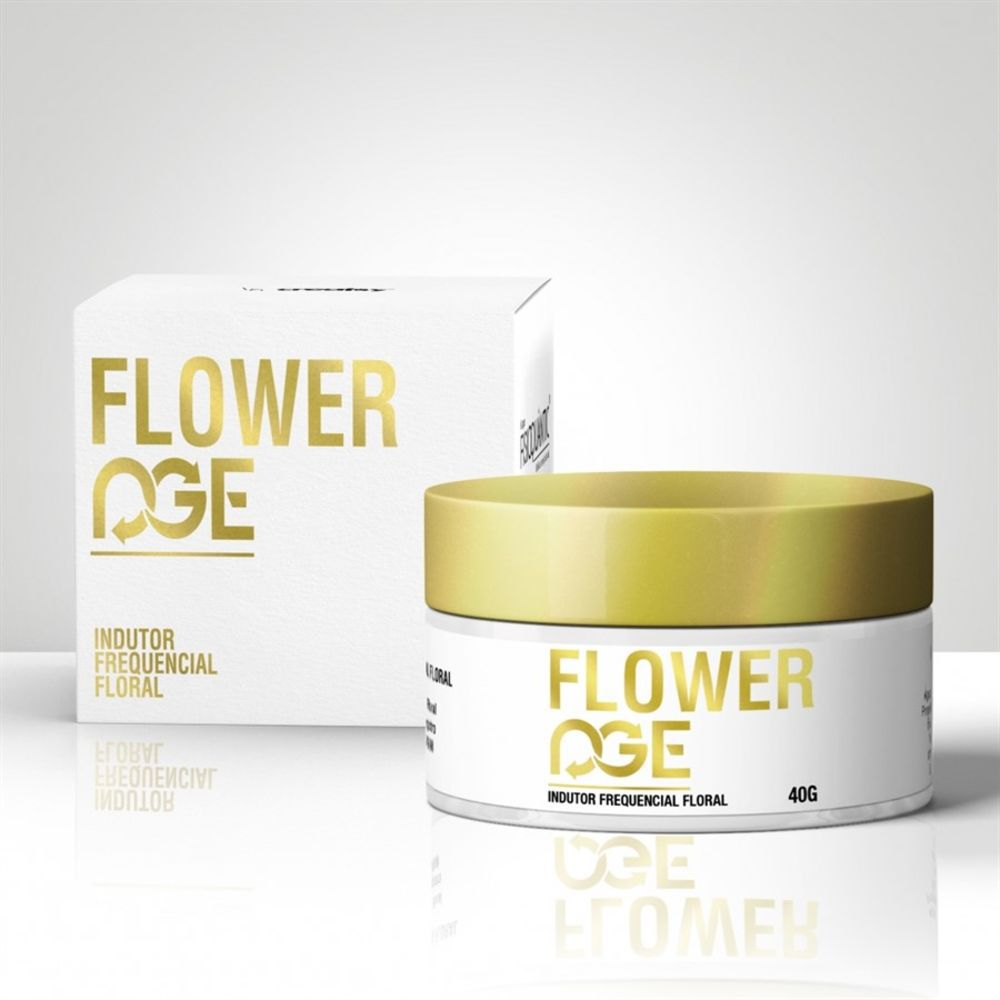 Gel Quantico Anti-Idade Flower Age 40g - Fisioquantica