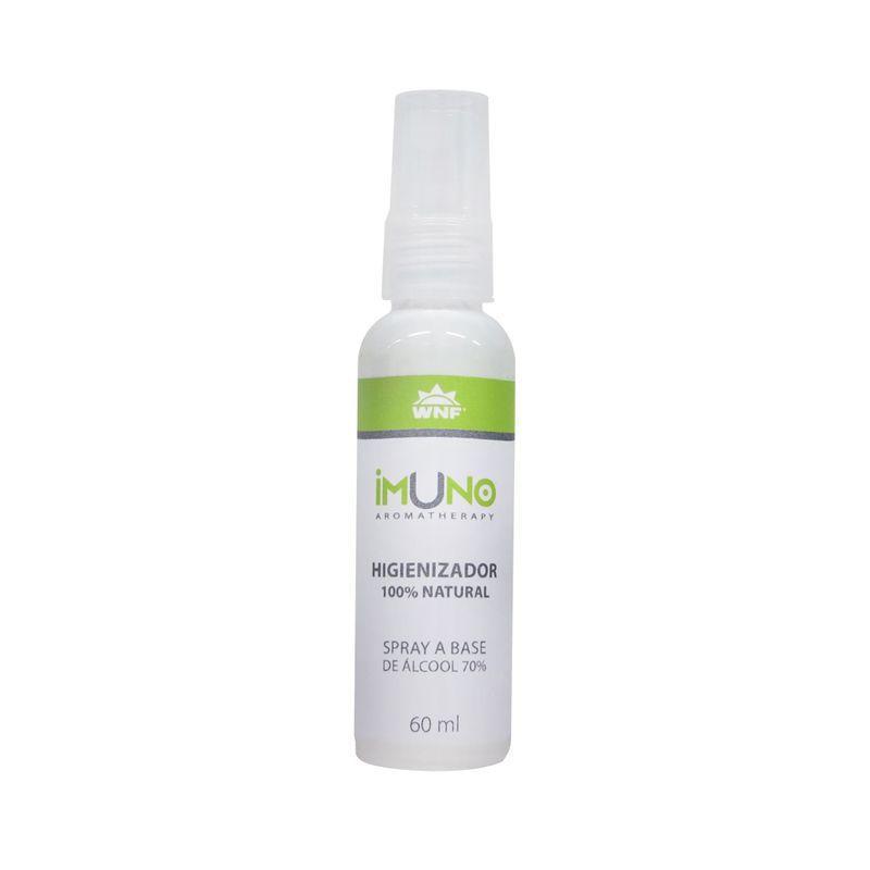 Higienizador de Mãos Natural Imuno  60 ml - WNF