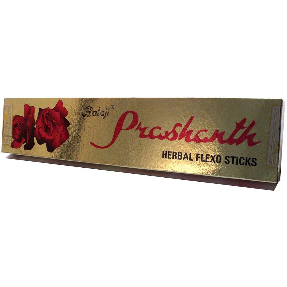 Incenso Natural Prashanth 15 g - Nova Era