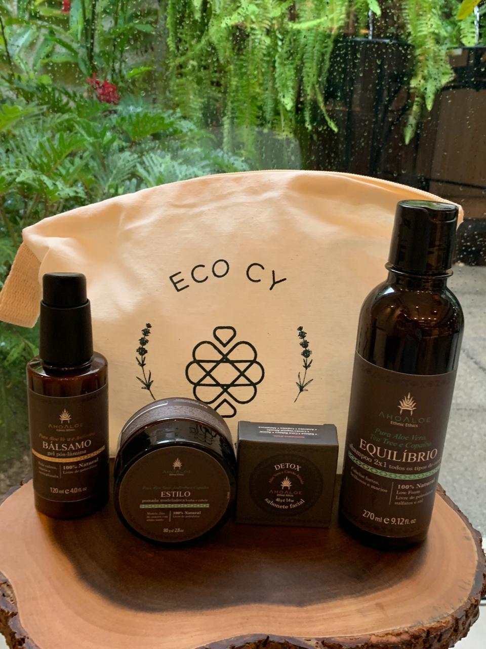 Kit Especial Masculino ( Shampoo, Gel, Sabonete e Pomada Modeladora)