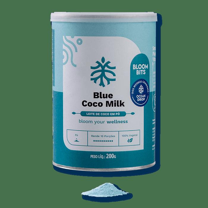 Leite de Côco Blue Milk B2B 200 g - Ocean Drop
