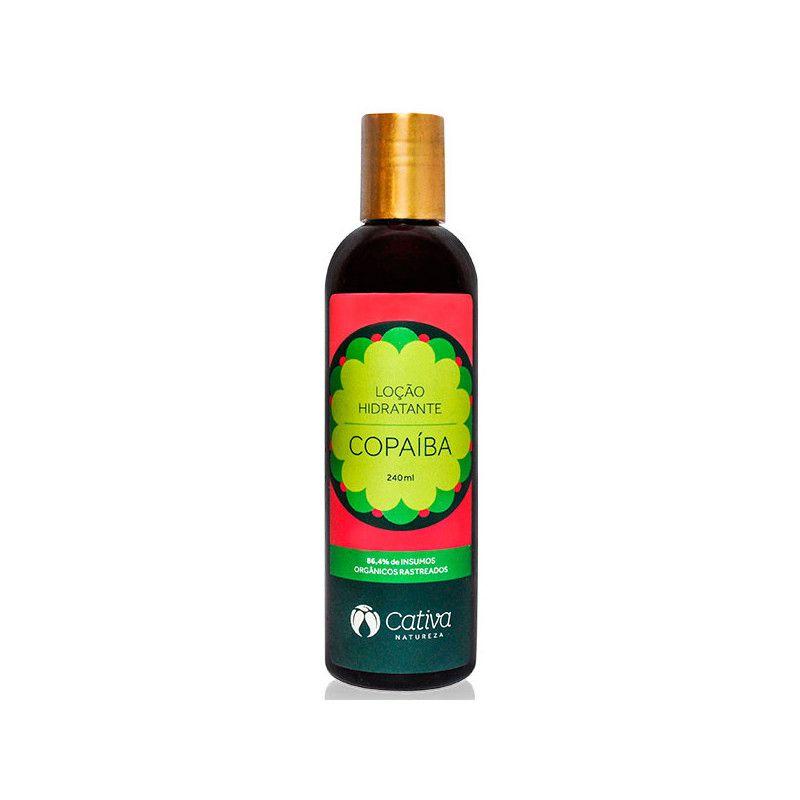 Loção Hidratante para Peles Sensíveis de Copaíba 240 ml - Cativa