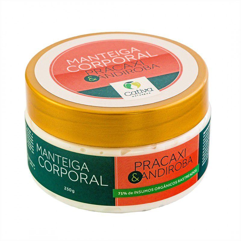 Manteiga Corporal Hidratante de Pracaxi 250 g - Cativa