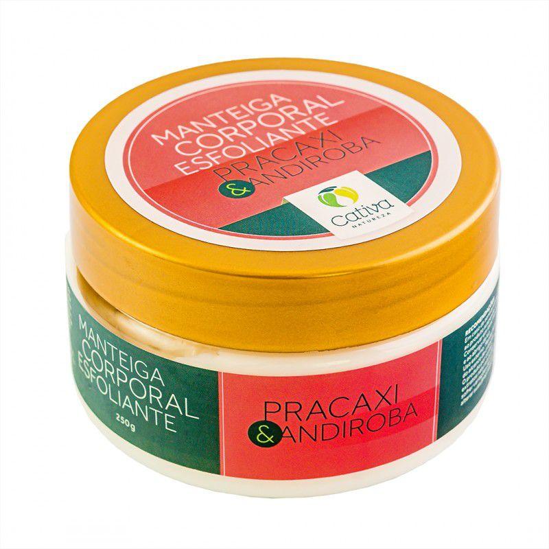 Manteiga Esfoliante de Pracaxi 250 g - Cativa