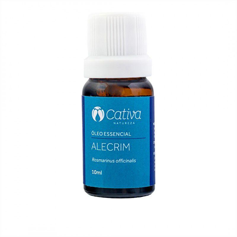 Óleo Essencial de Alecrim 10 ml - Cativa