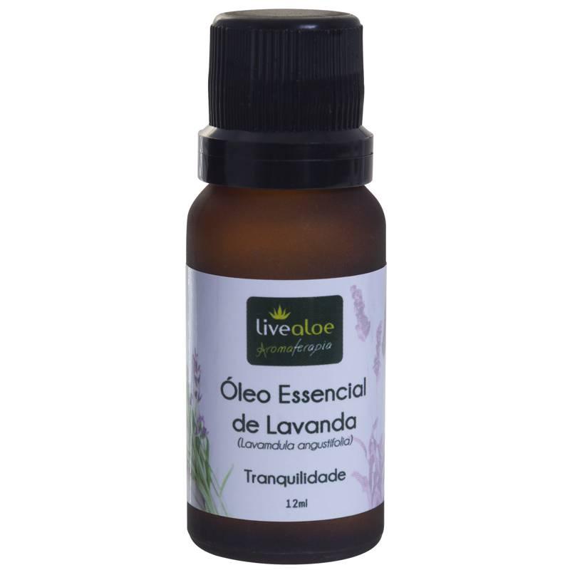 Óleo Essencial de Lavanda 12 ml - Livealoe