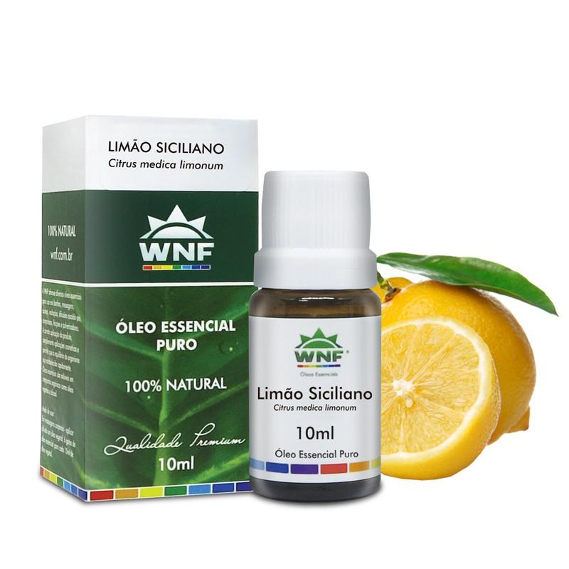 Oleo essencial de limão siciliano WNF 10 ml