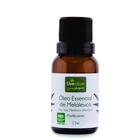 Óleo Essencial de Melaleuca 12 ml - Livealoe
