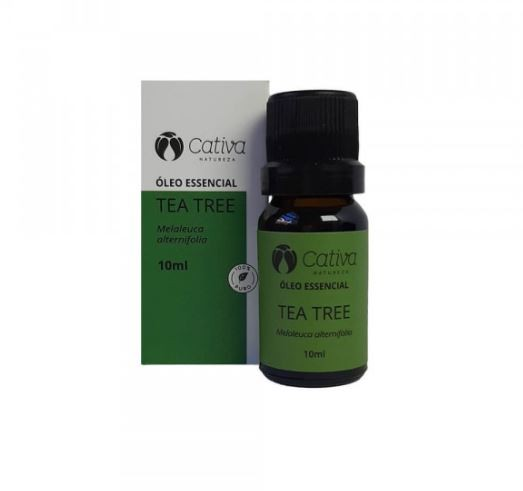 Óleo essencial de Tea Tree 10 ml - Cativa