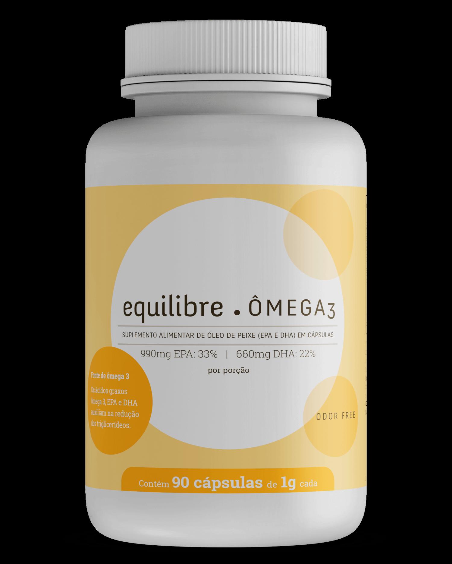 Omega 3 Odor Free 90 g - Equilibre