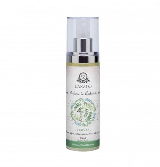 Perfume para Ambiente 7 Ervas 200 ml - Laszlo