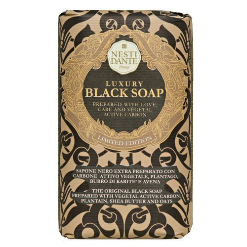 Sabonete Barra Luxury Black Soap 250 g - Nesti Dante