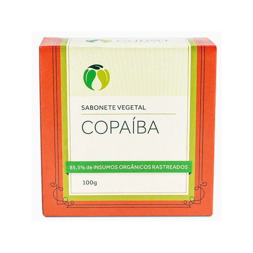 Sabonete de Copaíba em Barra 100g - Cativa