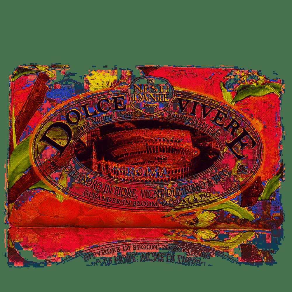 Sabonete Dolce Vivere Roma 250 g - Nesti Dante