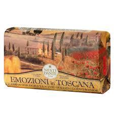 Sabonete Emozioni in Toscana Campo Dourado 250 g - Nesti Dante